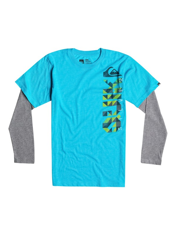 0 Boys 8-16 Triangular Tee  40664023 Quiksilver