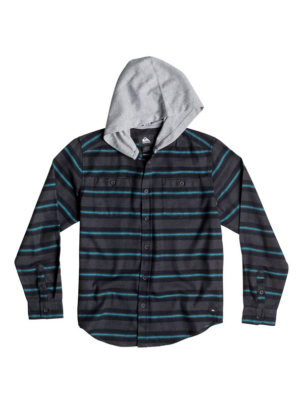 0 Boys 8-16 Craftsman Long Sleeve Flannel Shirt  40664031 Quiksilver