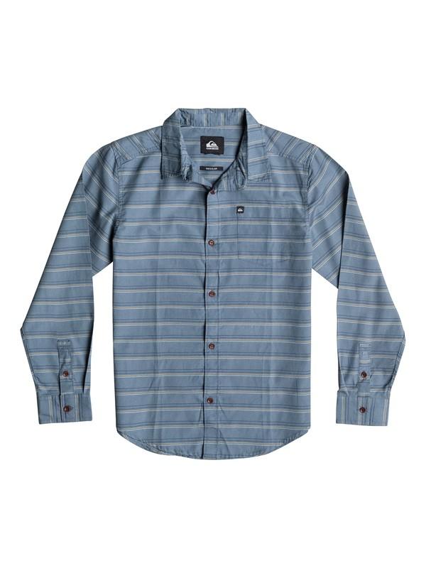 0 Camisa de Fletcher Stripe - Niños 8 -16  40664032 Quiksilver