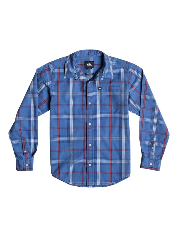 0 Boys 8-16 Zapped Stripe Long Sleeve Shirt  40664033 Quiksilver