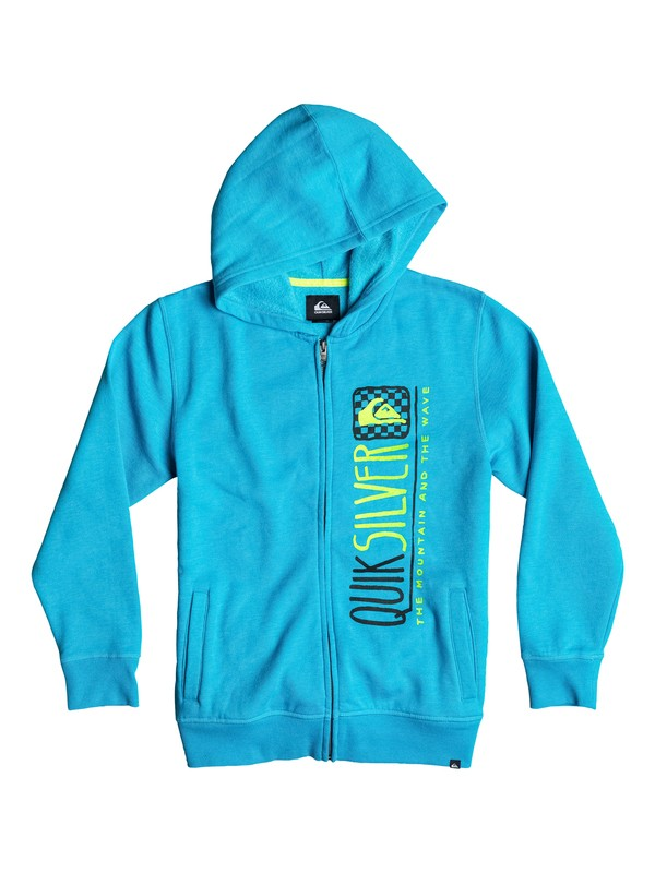 0 Boys 8-16 Triangular Zip Sweatshirt  40664043 Quiksilver