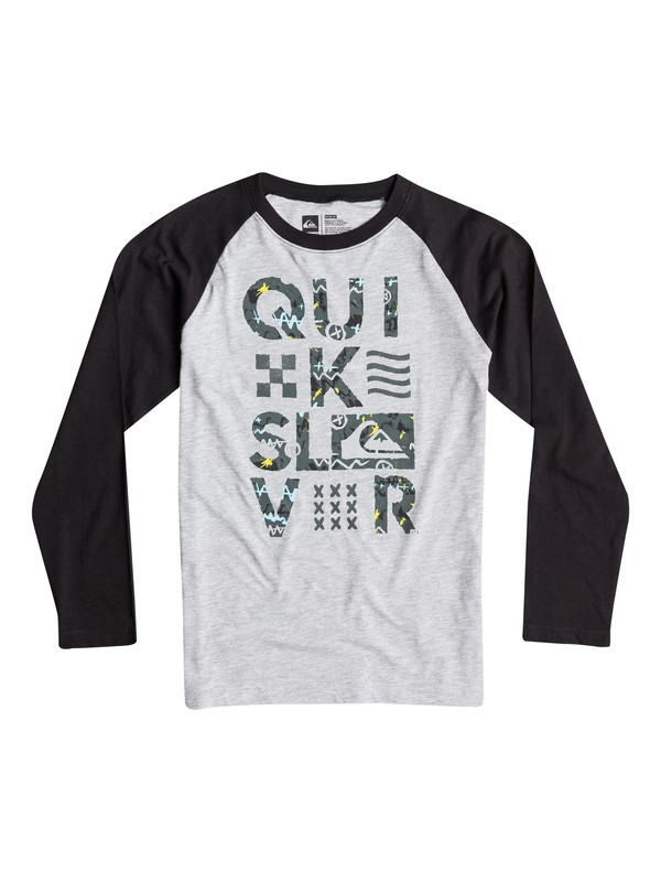 0 Boys 8-16 Too Quik Long Sleeve Tee  40664052 Quiksilver