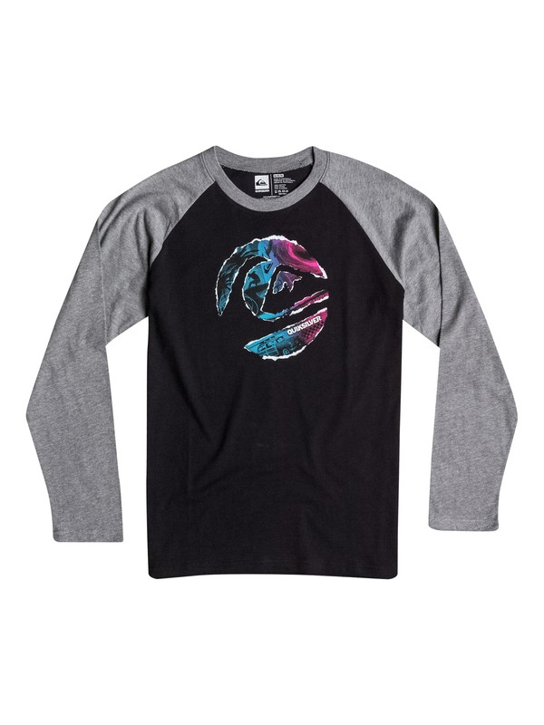0 Boys 8-16 Ripped Circle Long Sleeve Tee  40664053 Quiksilver