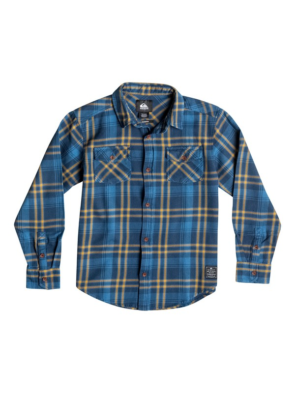 0 Boys 8-16 Haybeam Long Sleeve Shirt  40664136 Quiksilver