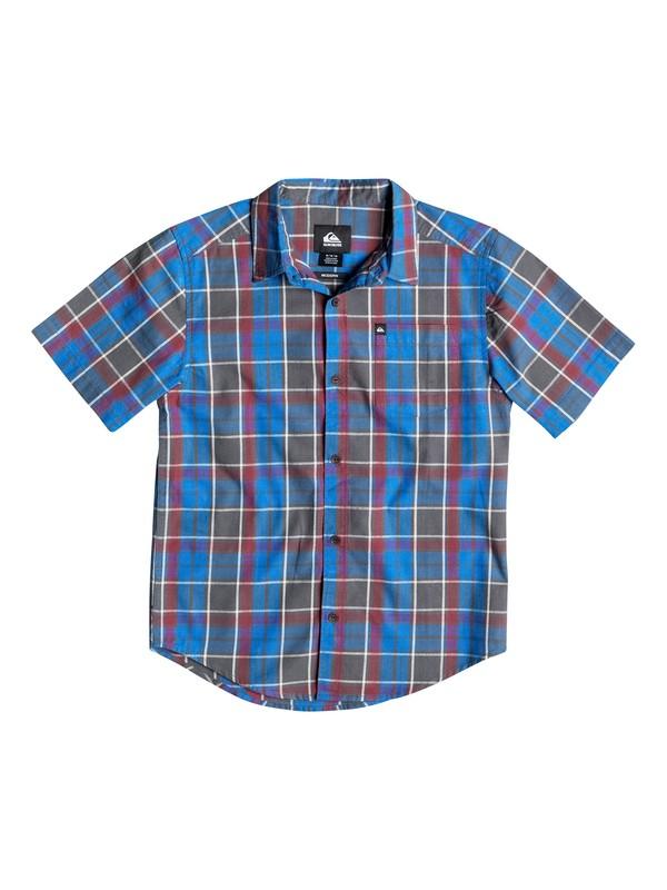 0 Boys 8-16 Think Short Sleeve Shirt  40664139 Quiksilver