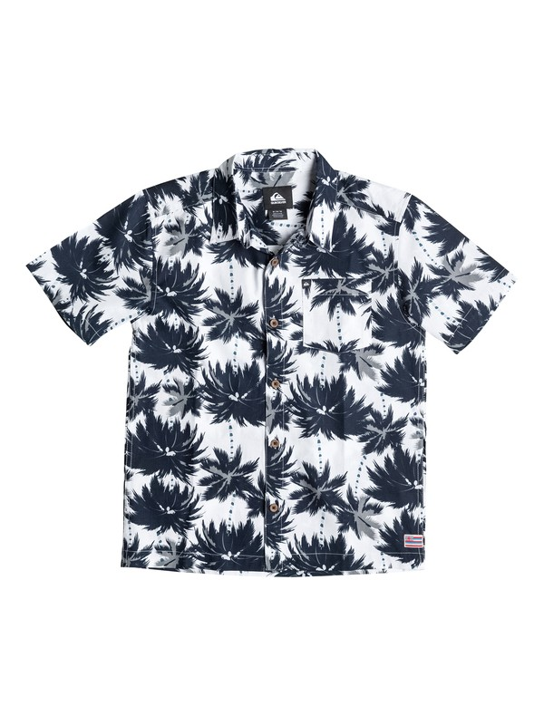 0 Boys 8-16 Hutia Short Sleeve Shirt  40664187 Quiksilver