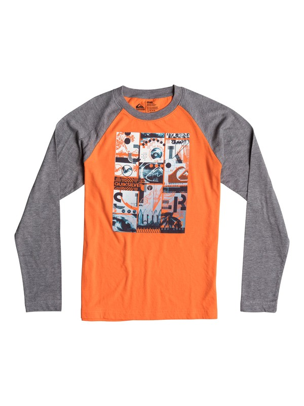 0 Boys 8-16 Multi Image Long Sleeve T-Shirt  40664195 Quiksilver