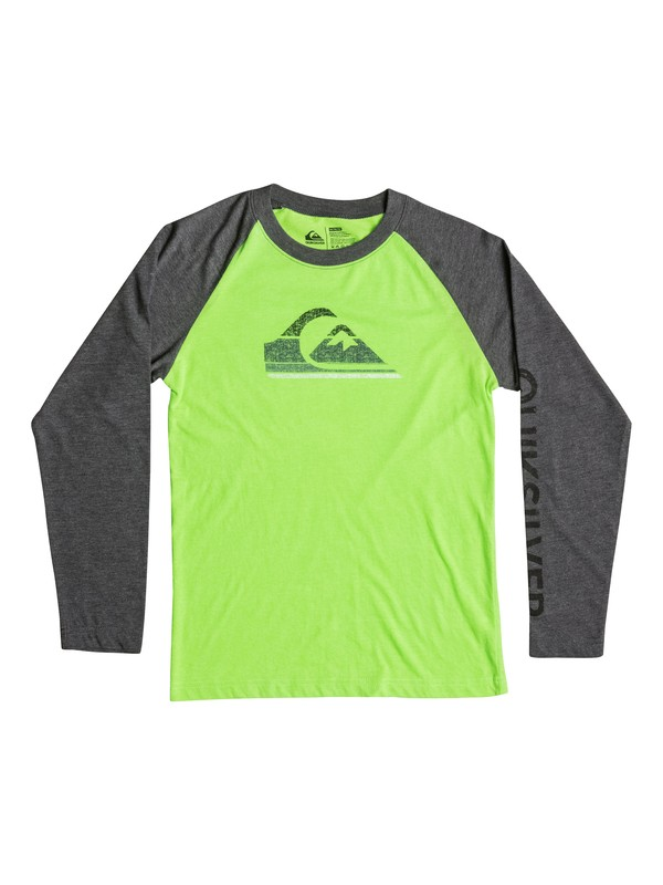 0 Boys 8-16 Everest Long Sleeve T-Shirt  40664196 Quiksilver