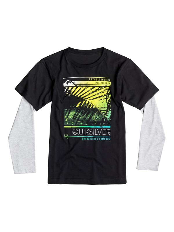 0 Boys 8-16 Frondship Long Sleeve T-Shirt  40664238 Quiksilver