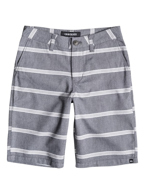 0 Boys 8-16 Everyday Oxford Stripe Shorts  40665011 Quiksilver