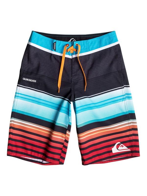0 Boys 8-16 Everyday Stripe Boardshorts  40665038 Quiksilver