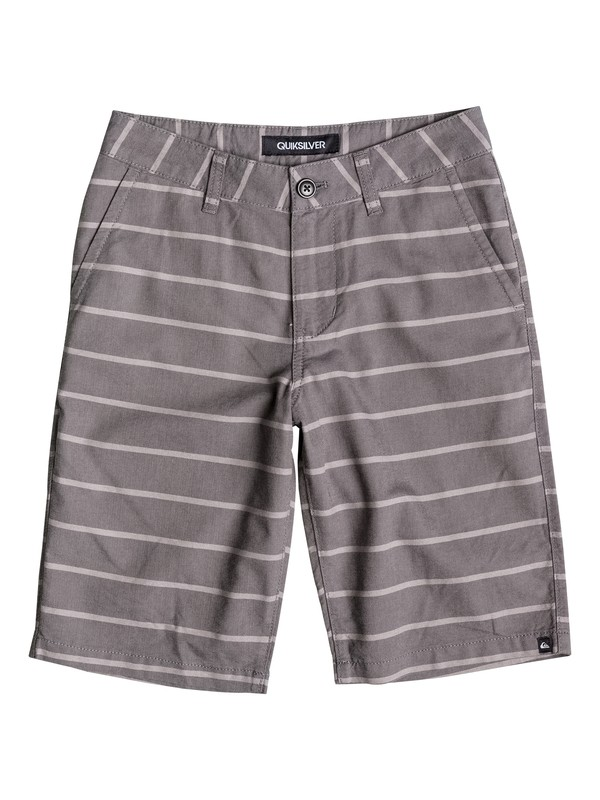 0 Boys 8-16 Everyday Oxford Stripe Shorts  40665046 Quiksilver