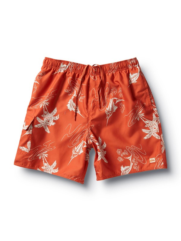 0 Men's Get Reel Boardshorts  502466 Quiksilver