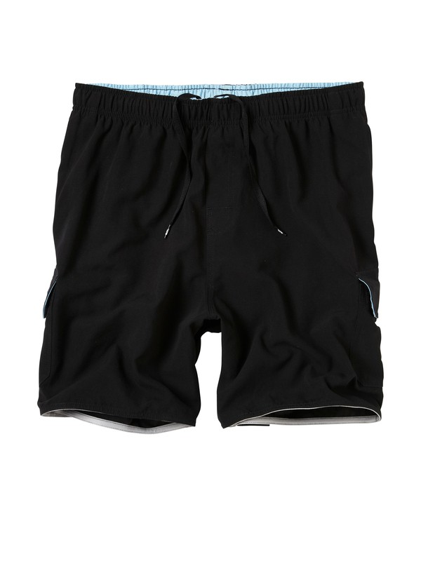 0 Men's Balance Volley Boardshorts  502484 Quiksilver