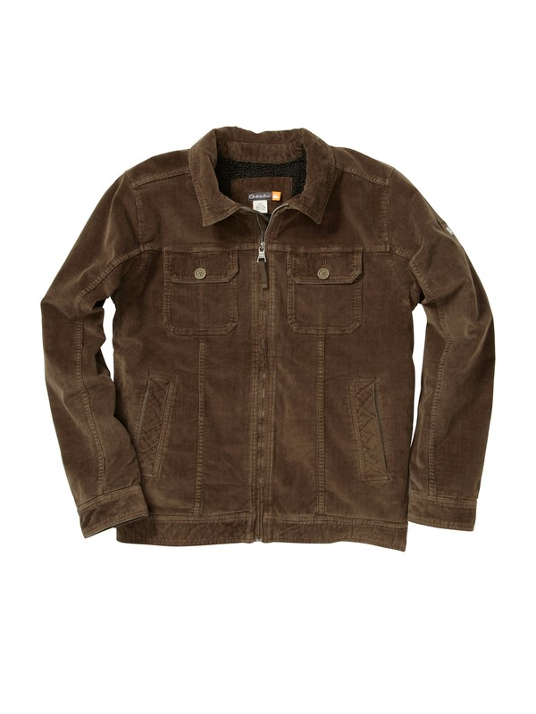0 Men's Santa Cruz Corduroy Jacket  506196 Quiksilver