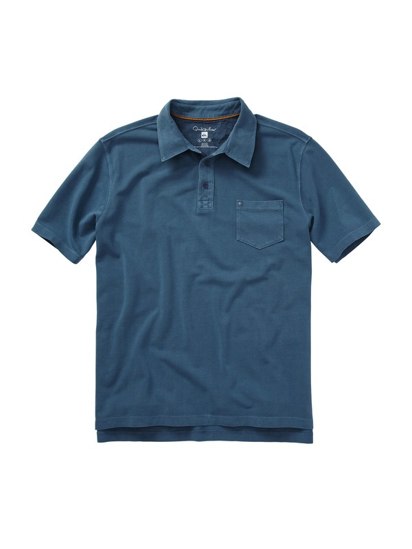 0 Men's Sandman Polo Shirt  508631 Quiksilver