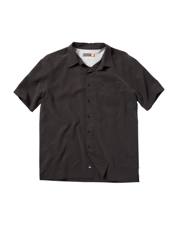 0 Men's Centinela Short Sleeve Shirt  509001 Quiksilver