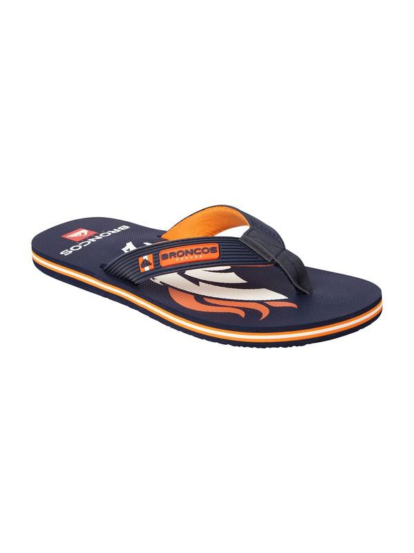 0 Denver Broncos NFL Sandals  857431 Quiksilver