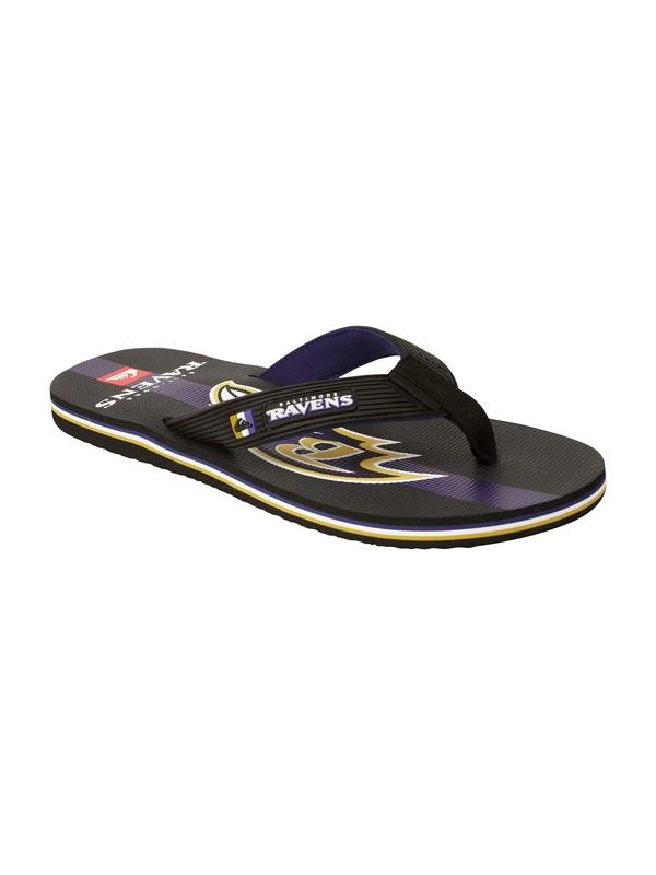 0 Baltimore Ravens NFL Sandals  857441 Quiksilver