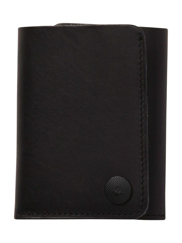 0 Vertex Leather Wallet  858C31 Quiksilver