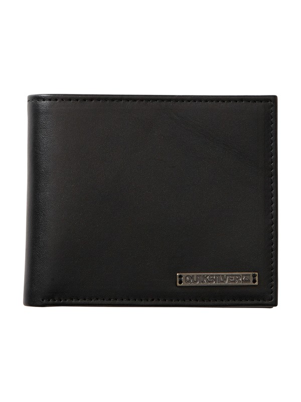 0 Apex Leather Wallet  858C44 Quiksilver
