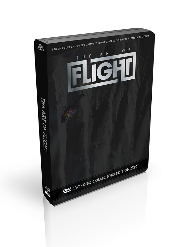 0 Art of Flight DVD and Blu-Ray Pack  861477 Quiksilver