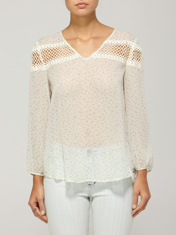 0 STRAW BLOUSE  873195 Quiksilver