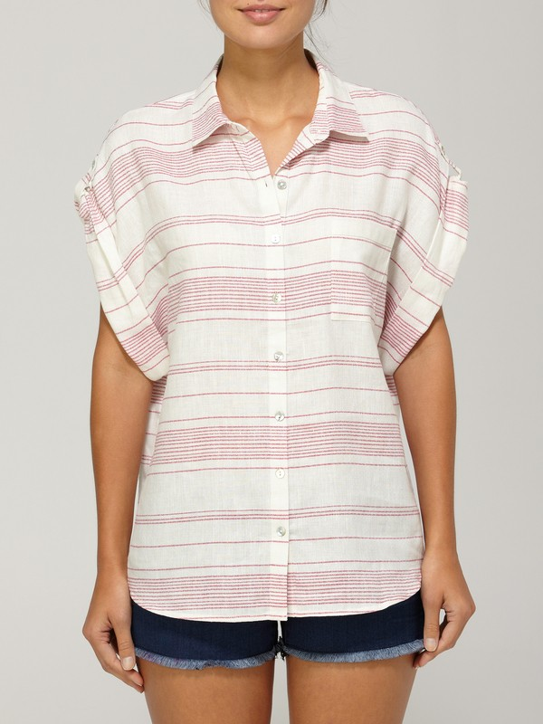 0 QSW Hibiscus Blouse  873208 Quiksilver