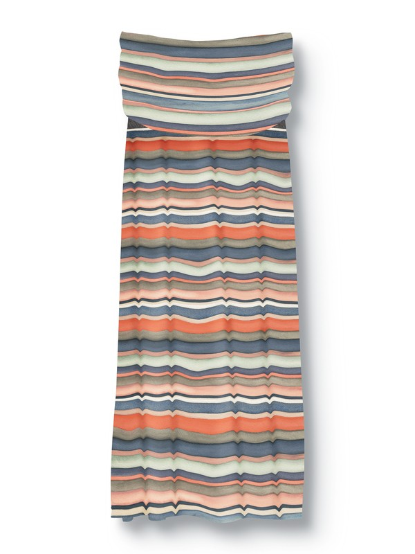0 PAINTED STRIPE DRESS  875273 Quiksilver