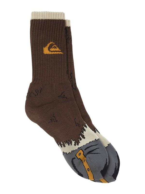 0 Boys 8-16 Toe Jammin Socks  AQBAA00025 Quiksilver