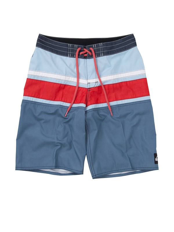 0 Boys 8-16 Panel Stripe Boardshorts  AQBBS00137 Quiksilver