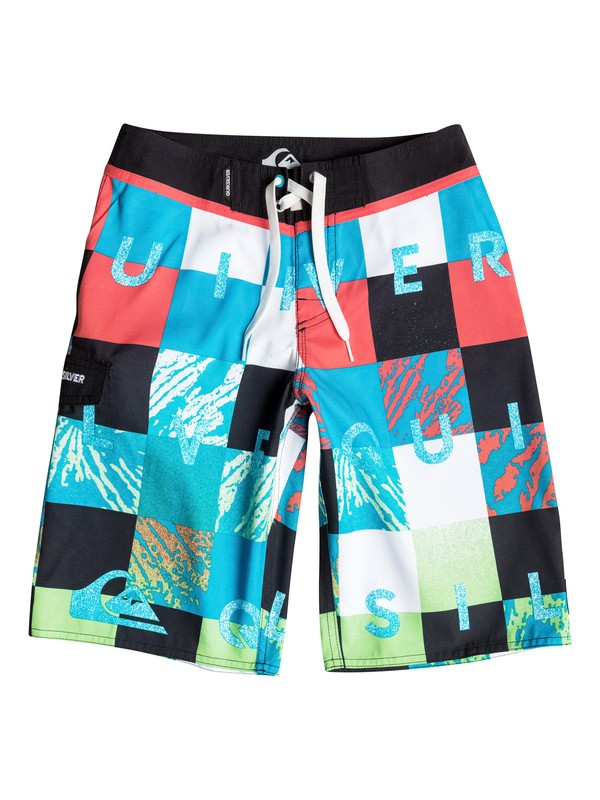 0 Boys 8-16 Check Remix Boardshorts  AQBBS03063 Quiksilver