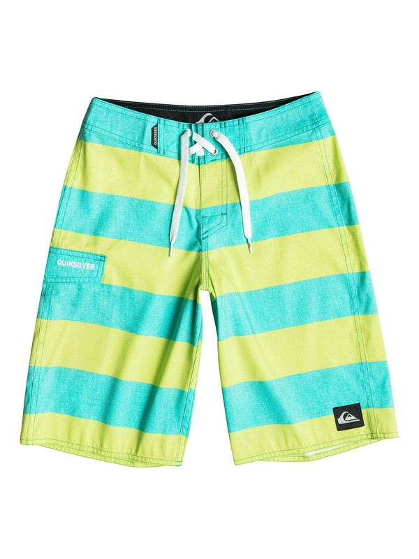 "0 Boy's 8-16 Everyday Brigg 19"" Boardshorts  AQBBS03065 Quiksilver"