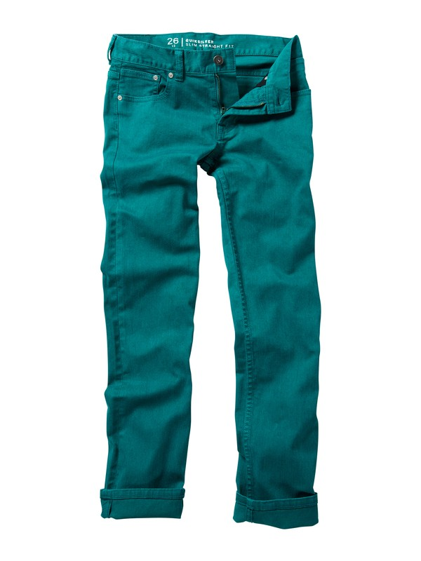 0 Boys 8-16 Distortion Jeans  AQBDP00007 Quiksilver
