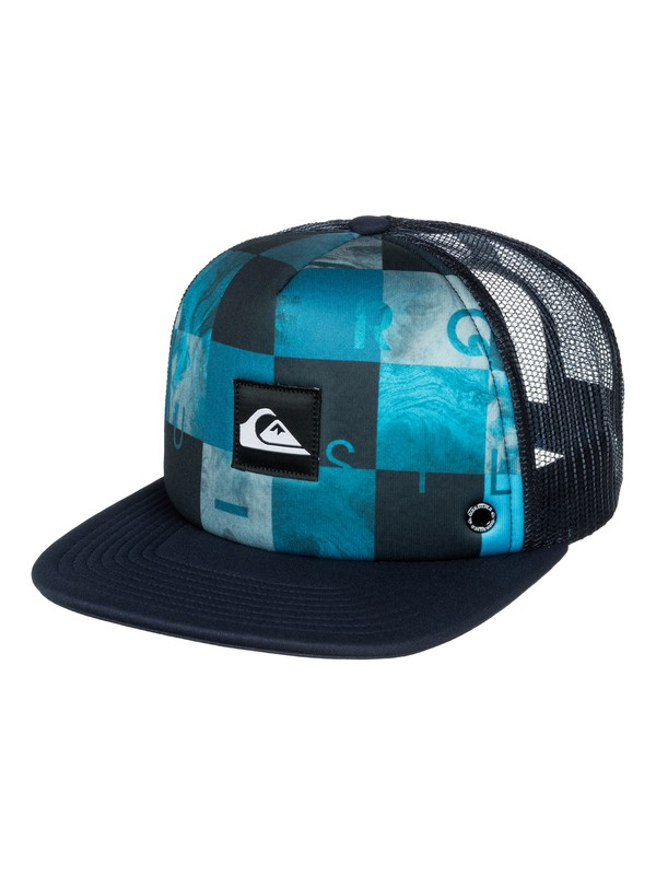 0 Boys 8-16 Boardies Trucker Hat  AQBHA03095 Quiksilver