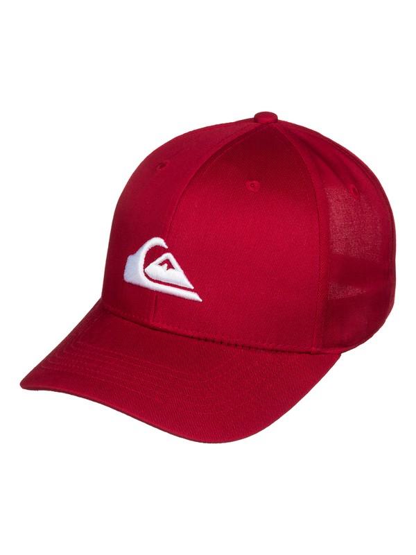 0 Decades - Gorra con cierre trasero a presión Rojo AQBHA03131 Quiksilver
