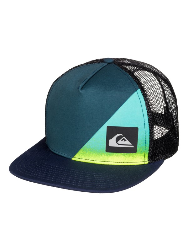 0 Boys 8-16 New Wave Comp Trucker Hat  AQBHA03137 Quiksilver
