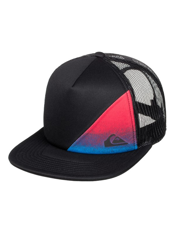 0 Boys 8-16 AG47 New Wave Trucker Hat  AQBHA03151 Quiksilver