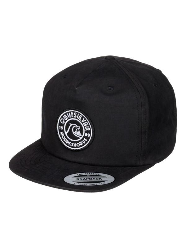 0 Boy's 8-16 Bragnet Snapback Hat  AQBHA03159 Quiksilver