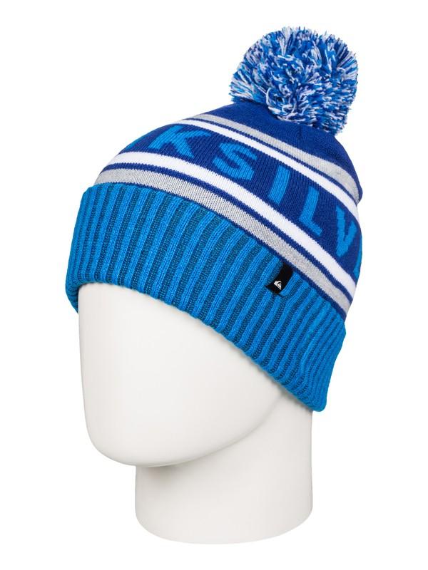 0 Boy's 8-16 Spillage Bobble Hat  AQBHA03181 Quiksilver