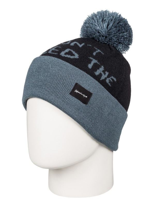 0 Animals - Bobble Hat  AQBHA03192 Quiksilver