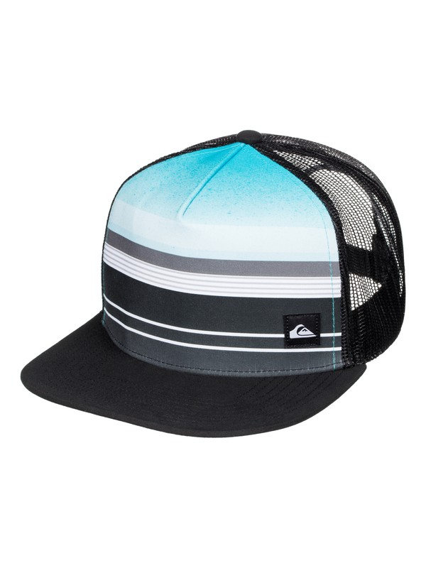 0 Boys 8-16 Everyday Stripe Trucker Hat  AQBHA03194 Quiksilver