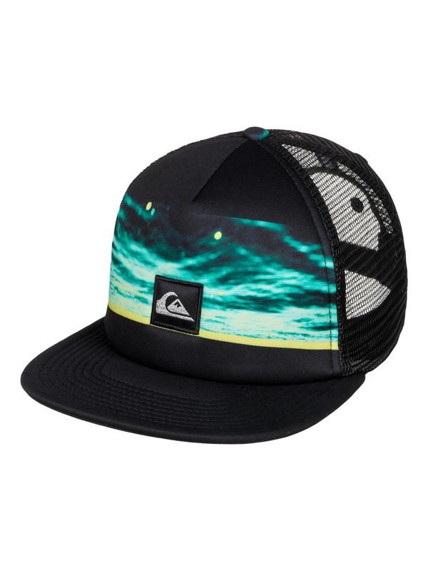 0 Boy's 8-16 Freshness Trucker Hat  AQBHA03216 Quiksilver