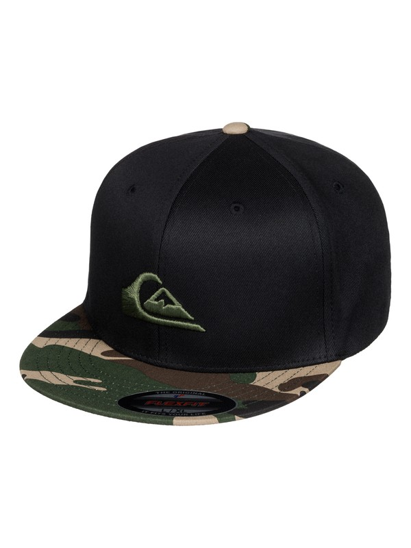 0 Boy's 8-16 Stuckles Flexfit Hat  AQBHA03218 Quiksilver