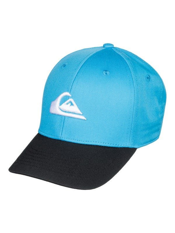 0 Boy's 8-16  Decades Snapback Hat Blue AQBHA03224 Quiksilver