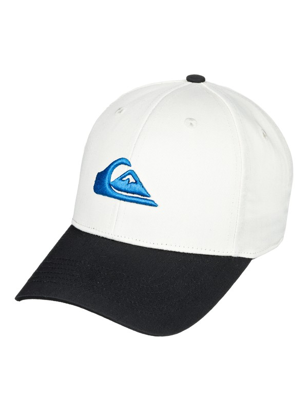 0 Boy's 8-16 Decades Snapback Hat White AQBHA03224 Quiksilver