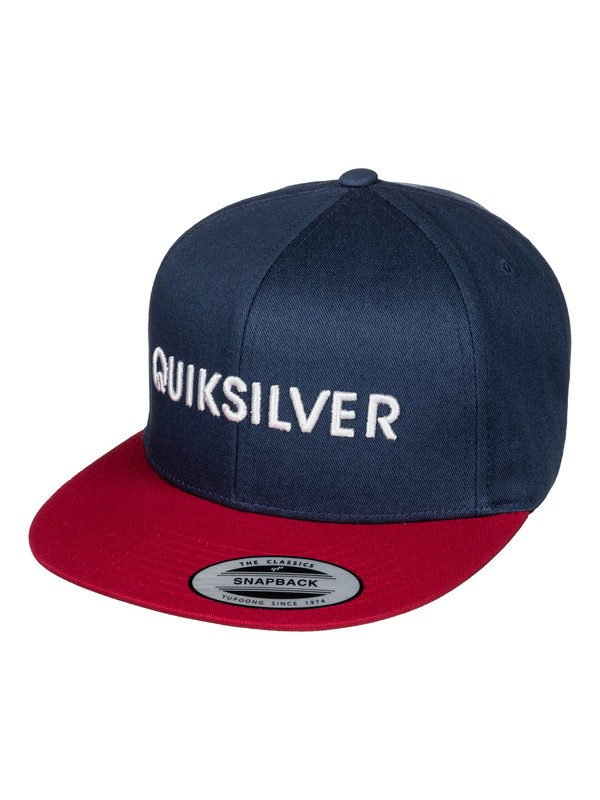 0 Boy's 8-16 Top Shelfer Snapback Hat  AQBHA03237 Quiksilver