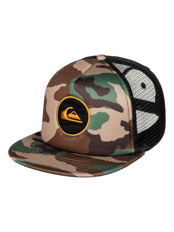 0 Boy's 8-16 Snapstearn Snapback Hat  AQBHA03245 Quiksilver