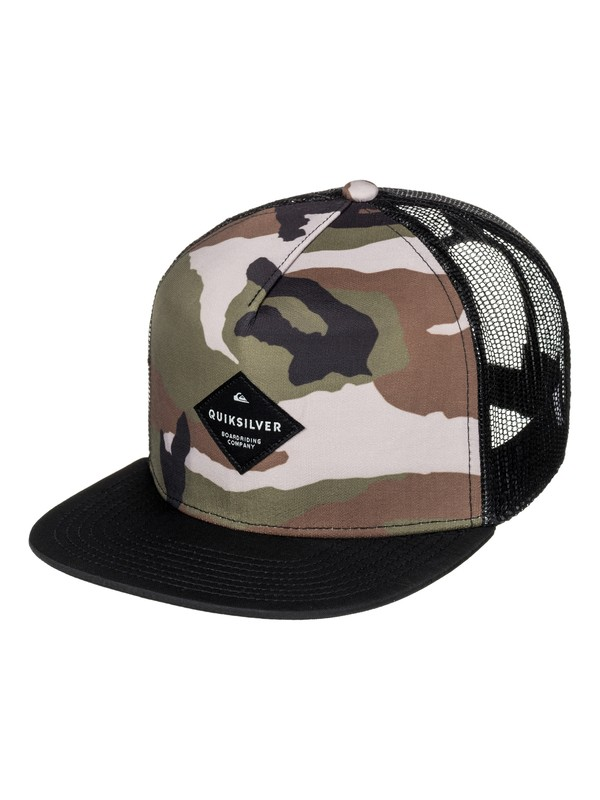 0 Boy's 8-16 Brillings Trucker Hat  AQBHA03254 Quiksilver