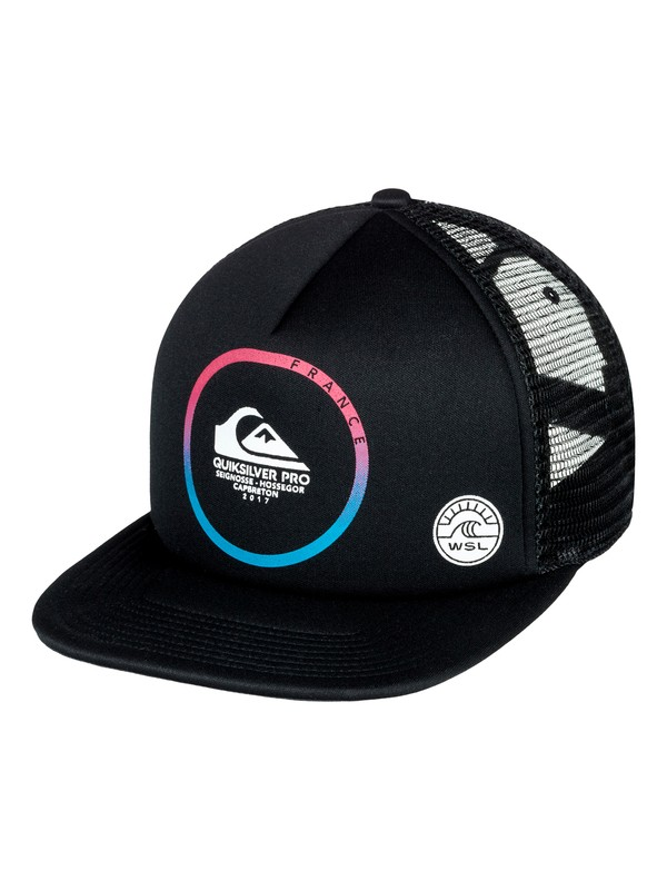 0 Quik Pro France 2017 - Trucker Cap for Boys 8-16  AQBHA03264 Quiksilver